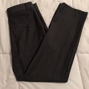 EUC Izod Boy's Charcoal Dress Pants Regular Cut